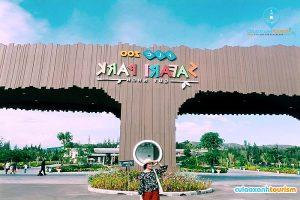 Không nên bỏ lỡ cơ hội đến FLC Zoo Safari là kinh nghiệm du lịch Quy Nhơn 3 ngày 2 đêm mà nhiều người chia sẻ (Ảnh: Internet)