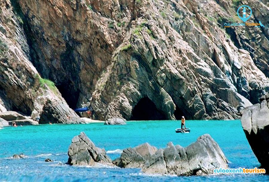 Đây là vùng biển đẹp thứ hai ở Nhơn Lý - Ảnh: Hoa Khá