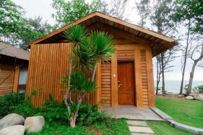 Những ngôi nhà vừa giản dị, vừa tiện nghi để du khách nghỉ dưỡng lâu dài. (Nguồn: Internet)