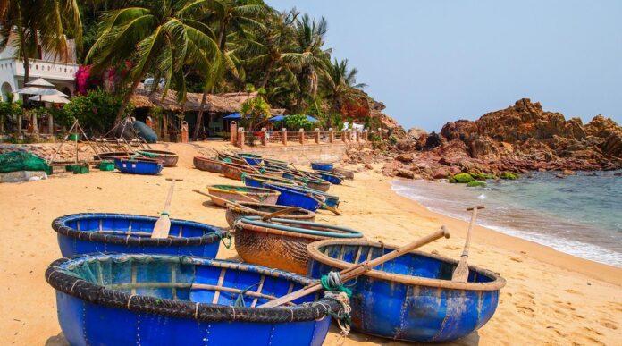 Cảnh đẹp hoang sơ ở Bãi Xếp. (Nguồn: Nguyenson)