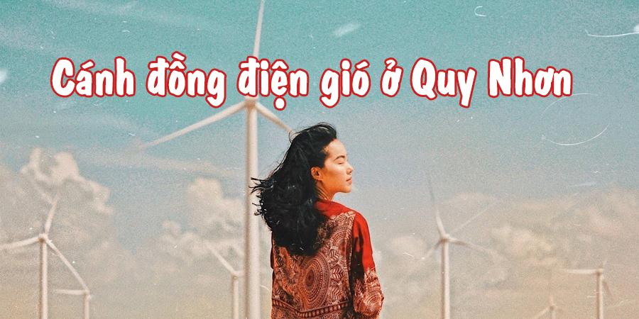 Cánh đồng điện gió Phương Mai