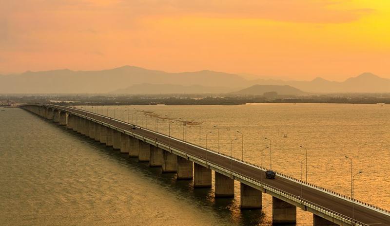 Du lịch Quy Nhơn nên đến Cầu Thị Nại - Ảnh ST