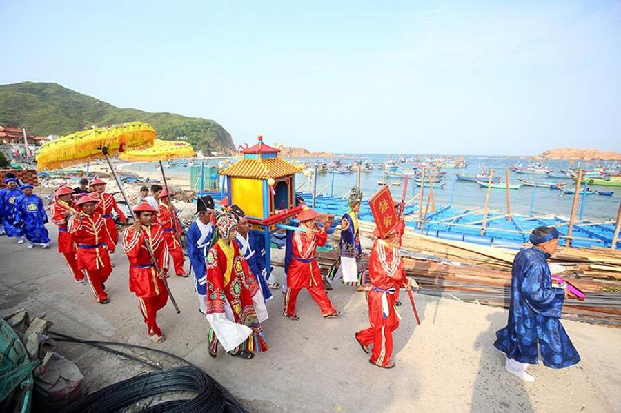 Lễ hội cầu ngư ở Nhơn Hải