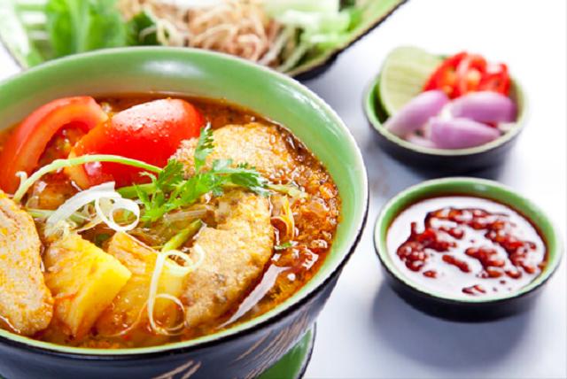 Bún cá là một trong những món ngon Quy Nhơn bạn chắc chắn nên thử khi tới đây (Ảnh ST)