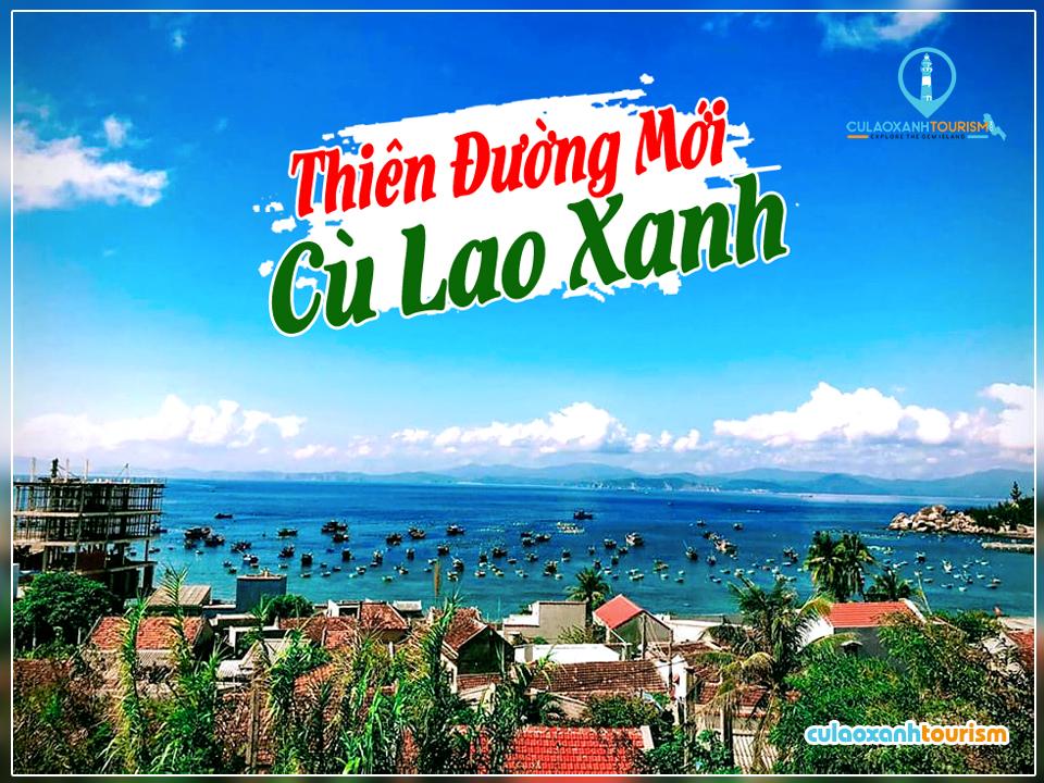 Một góc của đảo Cù Lao Xanh
