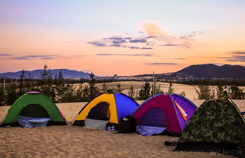 địa điểm cắm trại cực chất
