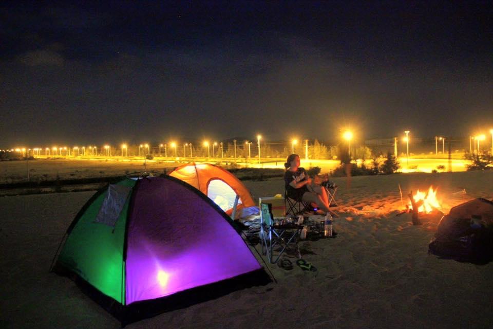 cắm trại đồi cát phương mai – quy nhơn - Ảnh ST