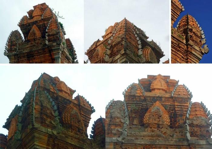 Kiến trúc độc đáo của tháp - Ảnh: Lan Nguyen