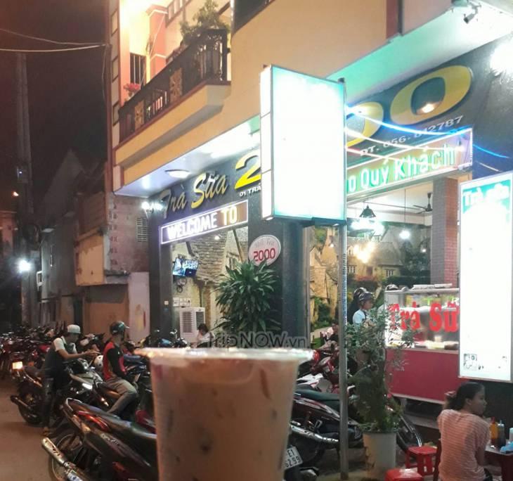 Quán trà sữa nối tiếng và lâu đời ở Quy Nhơn – Ảnh:ST