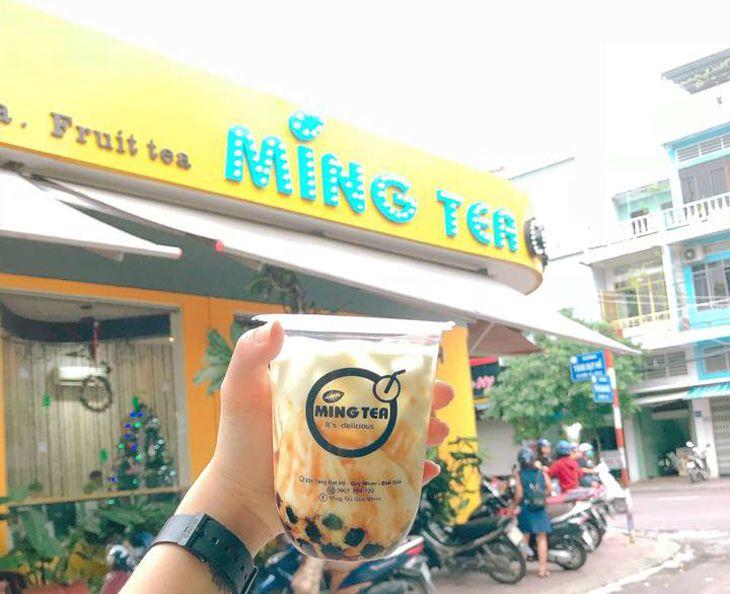 Trà Sữa Ming Tea Quy Nhơn, quán trà sữa ngon nhất nhì ở Quy Nhơn – Ảnh:ST