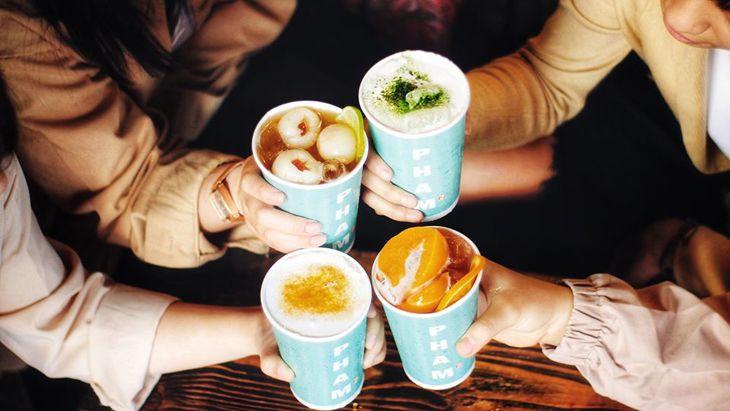Hương vị trà sũa đây rất đúng vị trà sữa Đài Loan – Ảnh:ST
