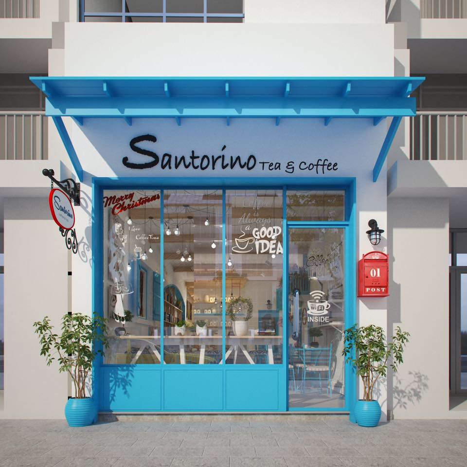 Ảnh: Santorino Coffee & Tea