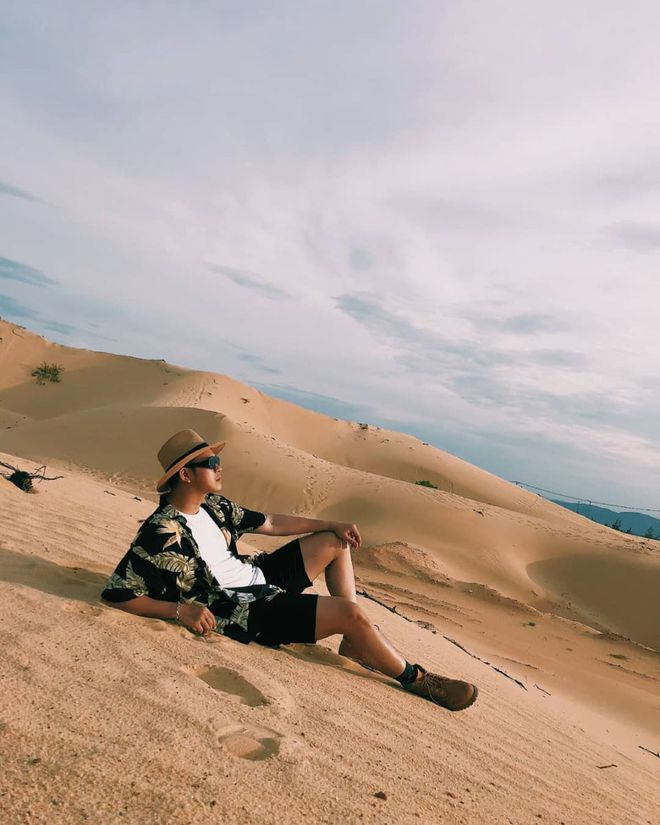 Những hình ảnh ấn tượng chụp ở đồi cát Phương Mai. Ảnh: Sưu tầm
