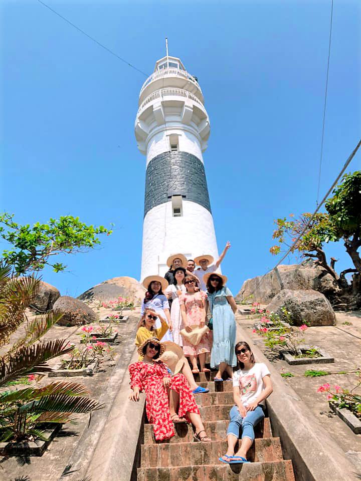 Hải Đăng Cù Lao Xanh - một di tích lịch sử ở Cù Lao Xanh
