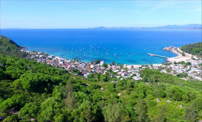 Một góc đảo Cù Lao Xanh – Ảnh Internet
