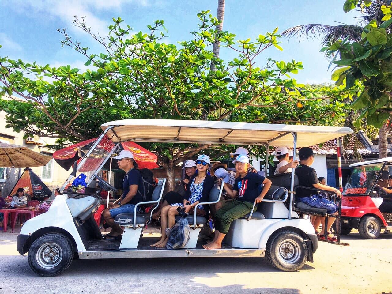 Phương tiện di chuyển đến thành phố Quy Nhơn