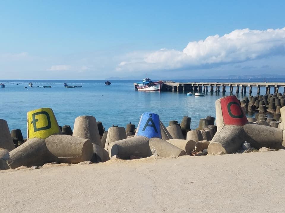 Khu cầu cảng Cù Lao Xanh