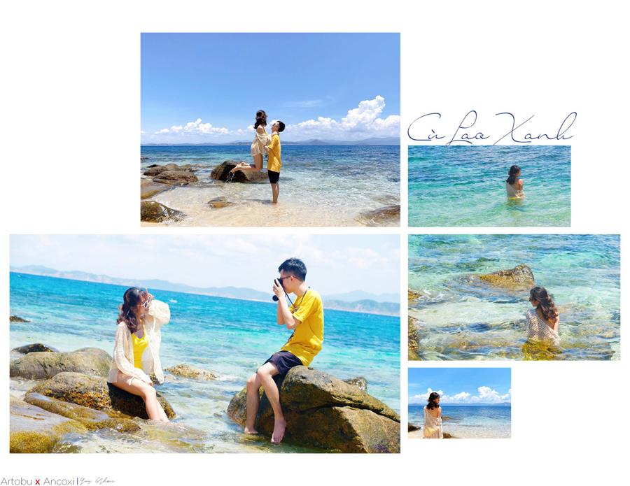 Đảo Cù Lao Xanh là điểm đến rất ưa thích của giới trẻ hiện nay