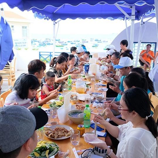 Kinh nghiệm ăn uống khi Trải nghiệm du lịch Cù Lao Xanh