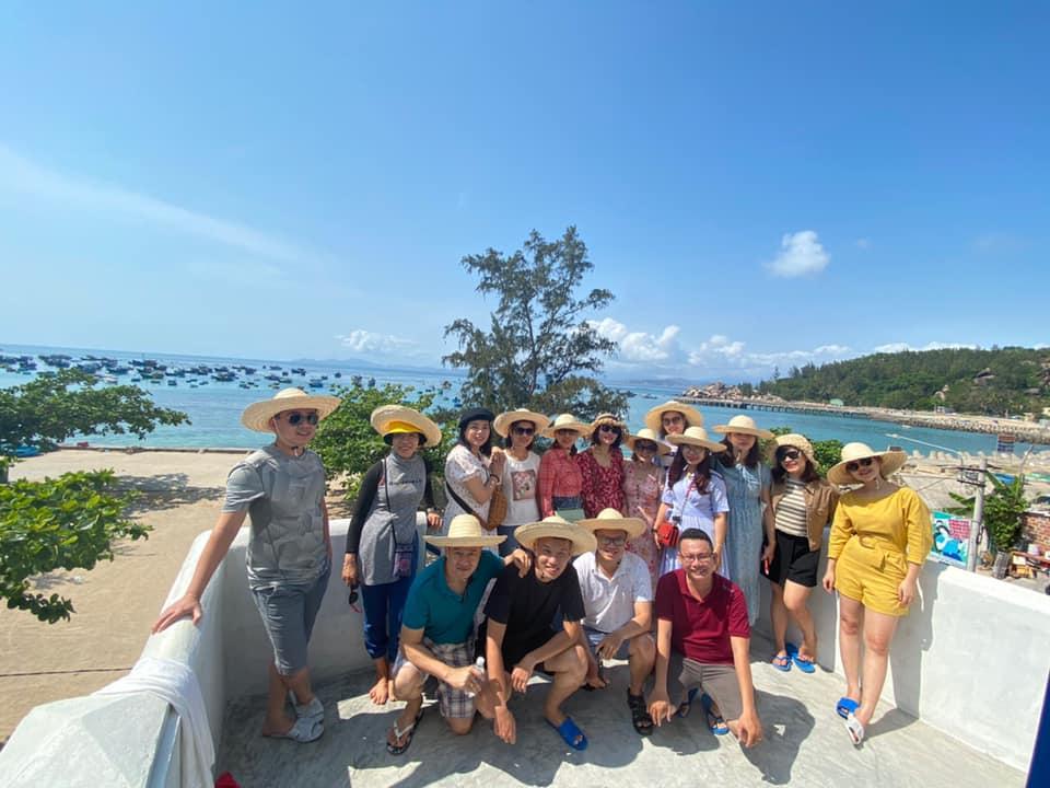 Vi Vu trên Đảo Cù Lao Xanh