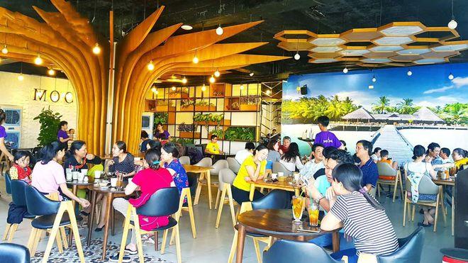 Mộc Trà Coffee địa điểm check-in hoàn hảo cho những bức hình ở Quy Nhơn. Ảnh: callmeso___