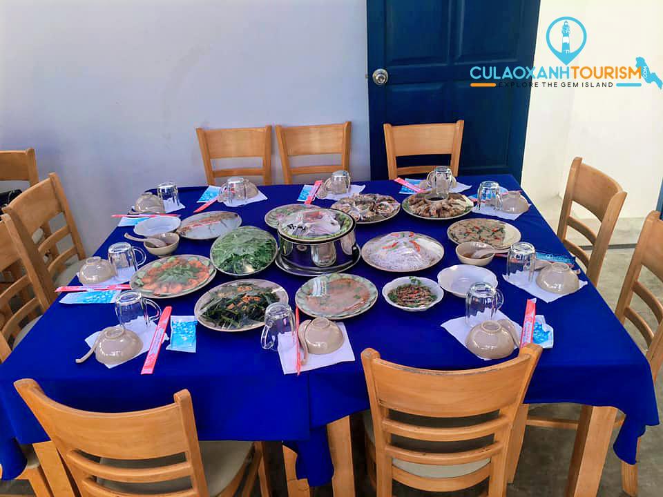 Ăn gì trên đảo Cù Lao Xanh