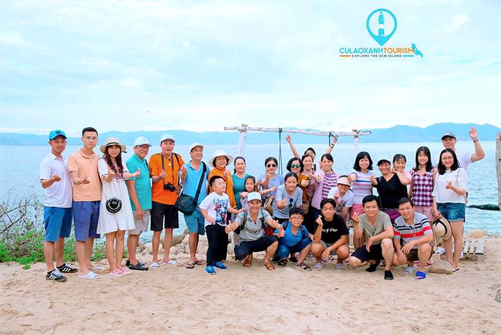 Hoạt động trên đảo Cù Lao Xanh