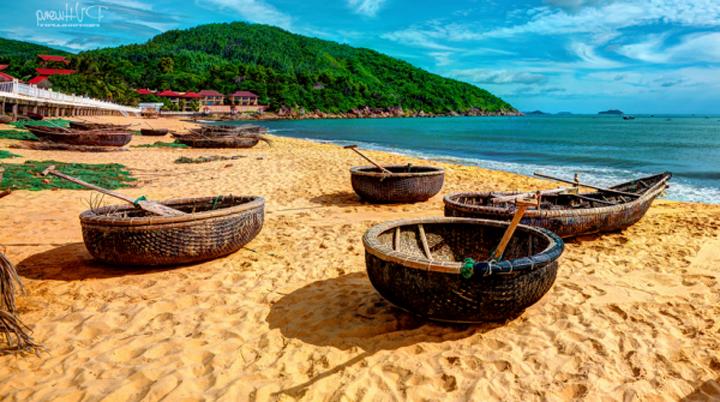 Bãi biển Quy Nhơn (Ảnh: ST)