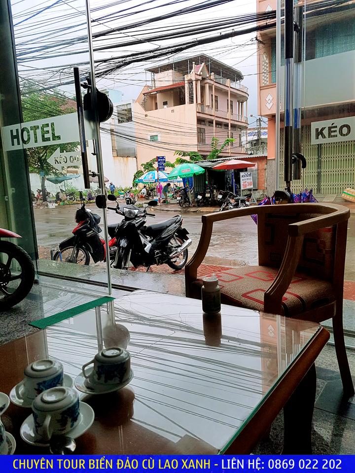 Quy Nhơn mùa mưa qua lăng kính cửa sổ