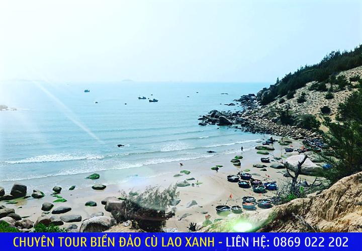 Cảnh biển của Khu dã ngoại Trung Lương - Quy Nhơn