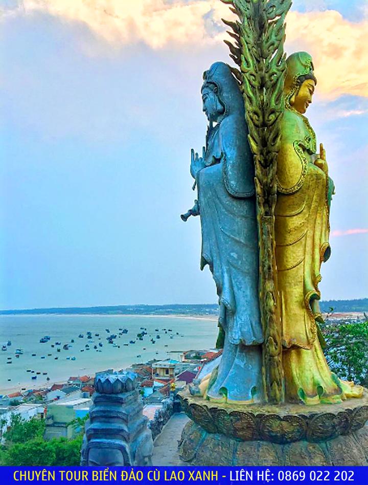 2 tượng Phật đôi Quan Thế Âm