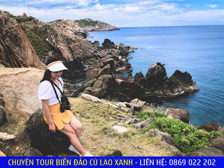 Check-in tại Cù Lao Xanh