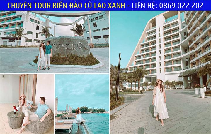 Hải Yến Babe chia sẻ hình ảnh trong chuyến đi trải nghiệm FLC Grand Hotel Quy Nhon (Ảnh: Ngô Hải Yến)